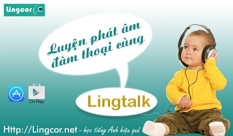 phần mềm luyện nói tiếng anh LingTalk