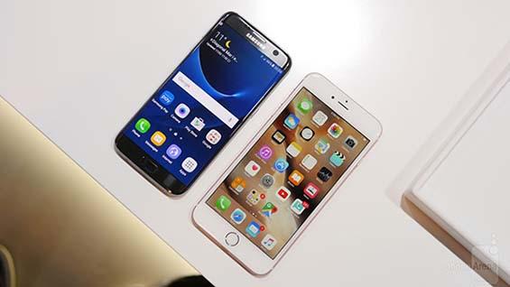 Nên mua iPhone 6S hay Samsung S7 Edge